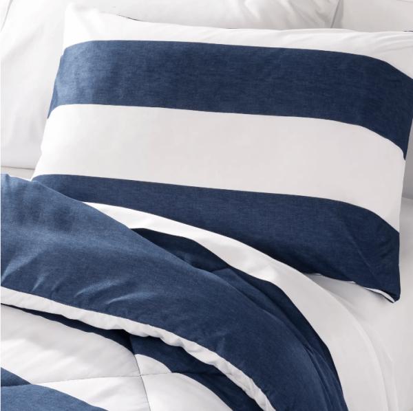 Blue Stripes comforter