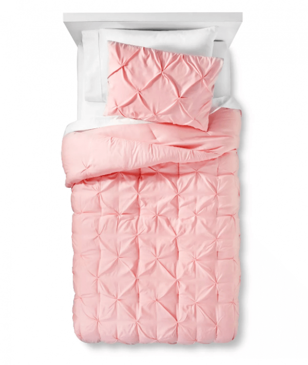 Pinch Pleat comforter