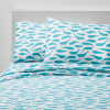 Whales 100% Cotton Twin sheets